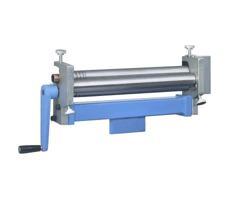 vidaXL Machine à cintrer à plaque d'acier manuelle 320 mm