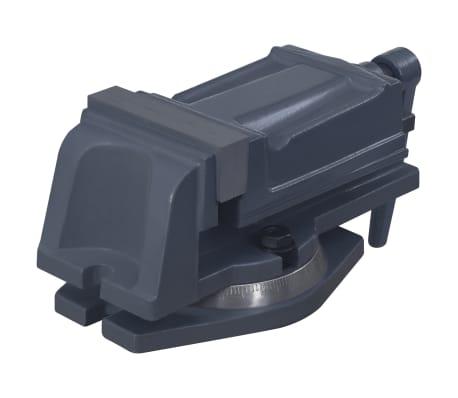 vidaXL Torno com plataforma giratória ferro fundido 100 mm