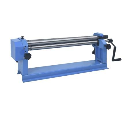 vidaXL Rundvalsmaskin 640 mm stål