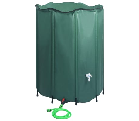 vidaXL Collapsible Rain Water Tank with Spigot 1250 L