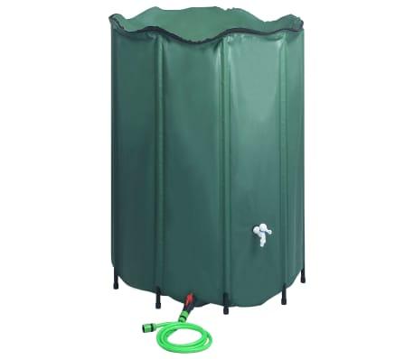 vidaXL Collapsible Rain Water Tank with Spigot 1500 L
