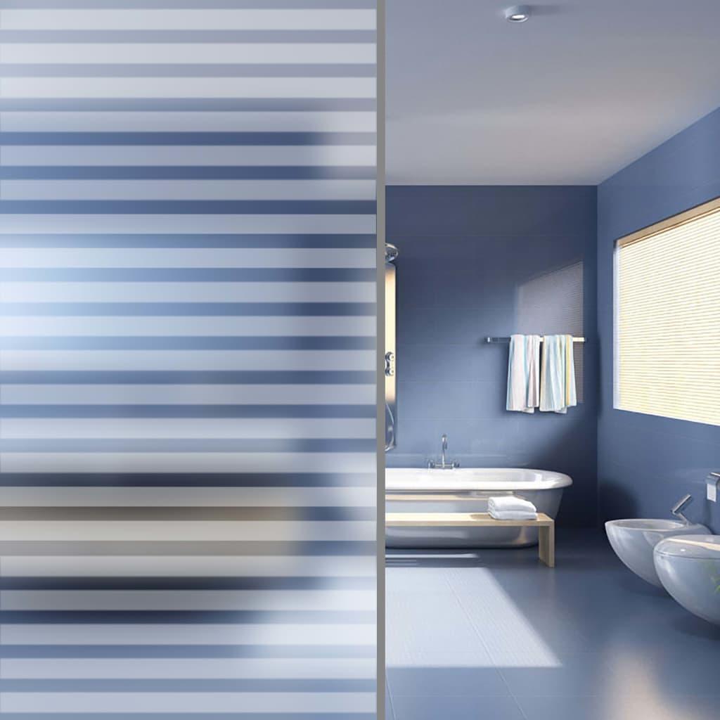 vidaXL Benzi de folie autocolantă mată pentru fereastră 0,9 x 100 m vidaxl.ro