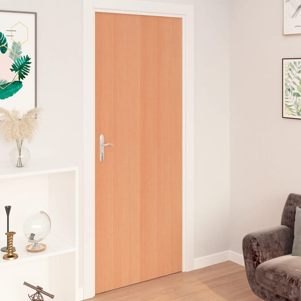 Samolepící tapety na dveře 2 ks japonský dub 210 x 90 cm PVC