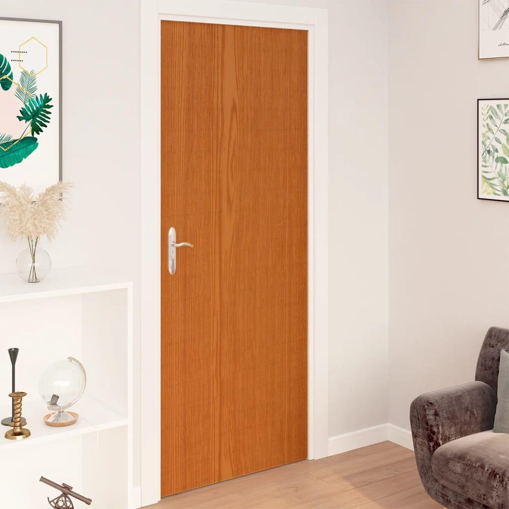 Samolepící tapety na dveře 2 ks světlý dub 210 x 90 cm PVC