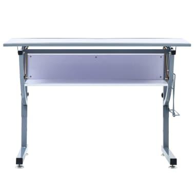 vidaXL Table à dessin pour adolescents Blanc 110x60x87 cm MDF[4/12]