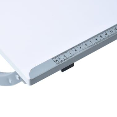 vidaXL Table à dessin pour adolescents Blanc 110x60x87 cm MDF[9/12]