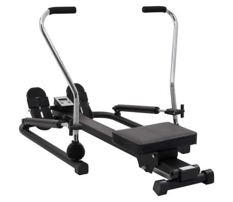 vidaXL Rowing Machine 5 Level Hydraulic Resistance