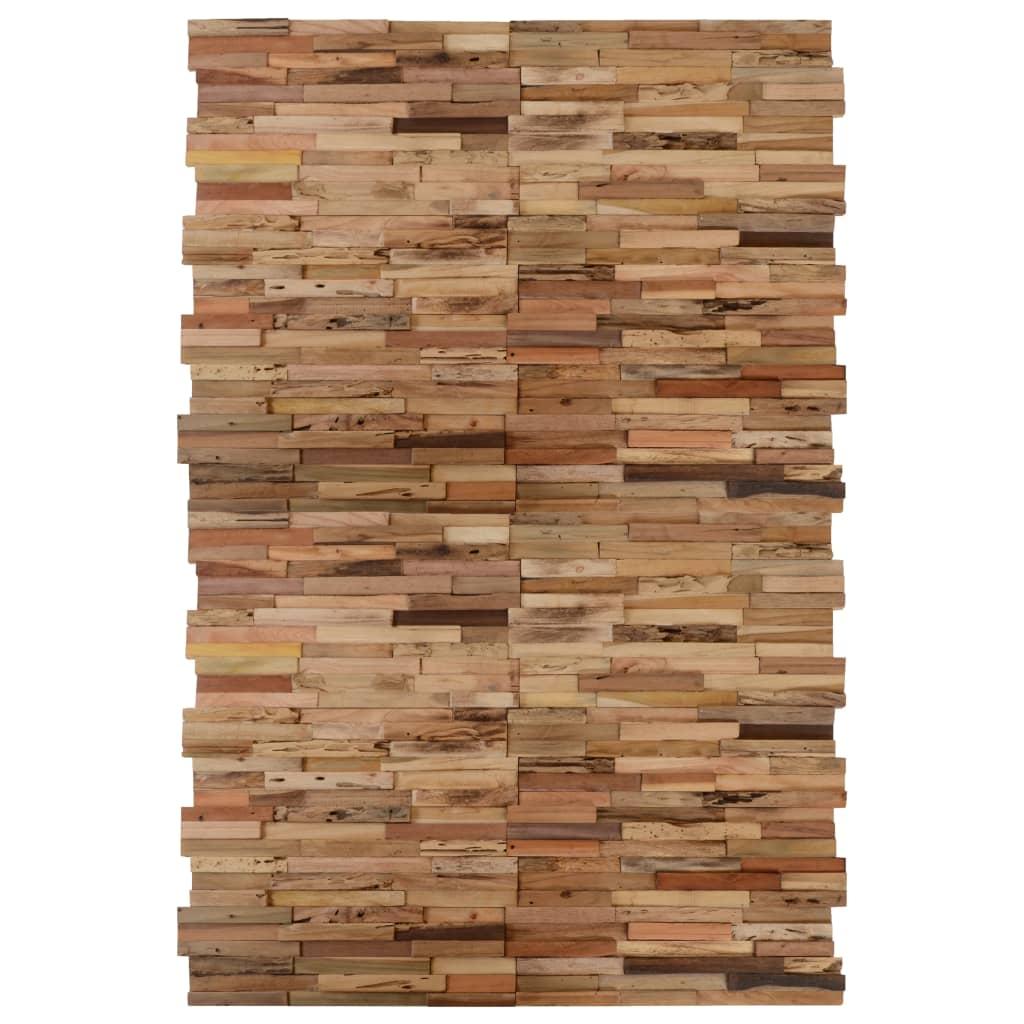 Nástěnné obkladové panely 20 ks recyklovaný teak 2 m²