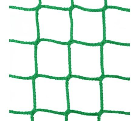 vidaXL Tinklai šienui, 4 vnt., 0,75x0,75 m, PP, apvalūs (2x142138)[3/4]