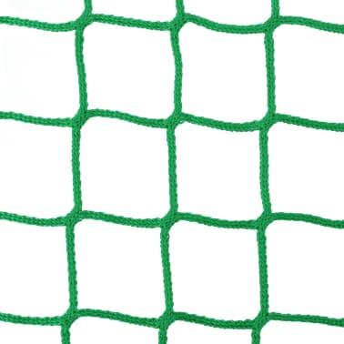 vidaXL Tinklai šienui, 4 vnt., 1x1 m, PP, apvalūs (2x142140)[3/4]