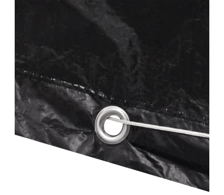 vidaXL Sodo saulės gulto uždangalai, 2vnt., 218x77x55cm, 8 kilputės[6/8]