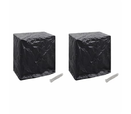 vidaXL Sodo baldų/teniso stalo uždangalai, 2vnt., 160x55x182cm, 8 kil.[1/8]