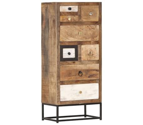 vidaXL Dulap cu sertare, 45 x 30 x 105 cm, lemn masiv reciclat
