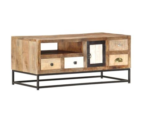 vidaXL Konferenční stolek 90 x 45 x 40 cm masivní recyklované dřevo