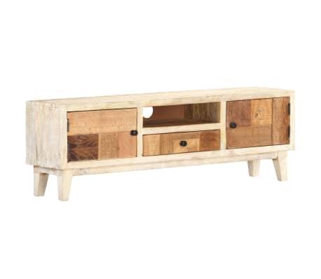vidaXL TV-Schrank 120 × 30 × 40 cm Recyceltes Massivholz