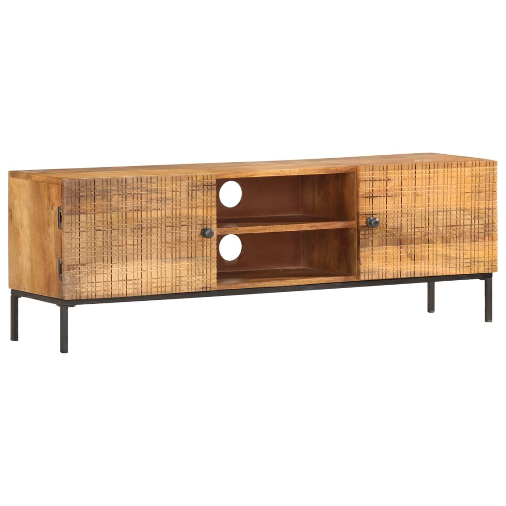vidaXL Comodă TV, 120 x 30 x 40 cm, lemn masiv de mango vidaxl.ro