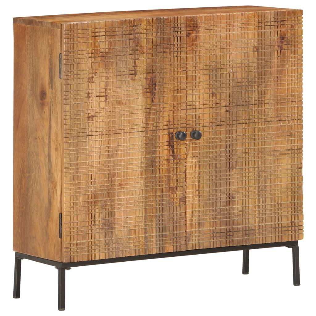 Puhvetkapp, 75 x 30 x 75 cm, toekas mangopuit