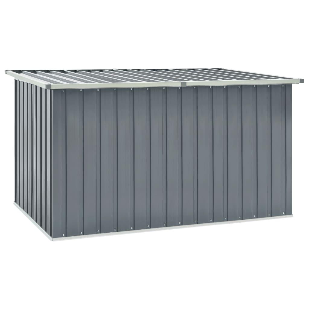 Zahradní úložný box šedý 171 x 99 x 93 cm