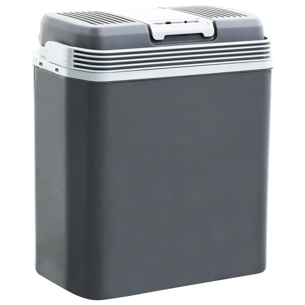 vidaXL Ladă frigorifică termoelectrică portabilă 24 L 12 V 230 V A+++ poza 2021 vidaXL