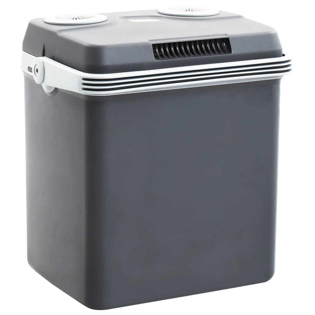 vidaXL Přenosný termoelektrický chladicí box 32 l 12 V 230 V A++