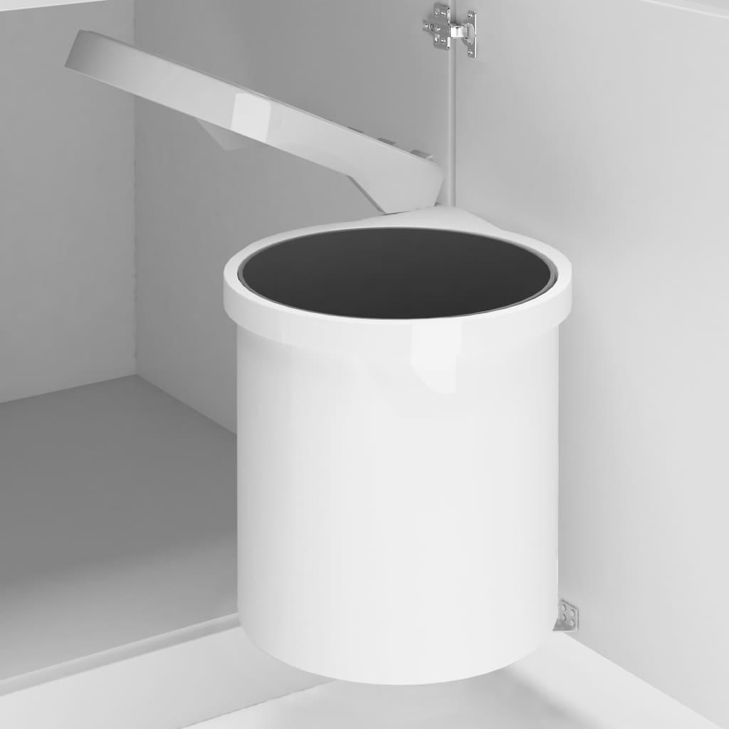 vidaXL Coș de gunoi încorporat de bucătărie, 8 L, plastic poza vidaxl.ro