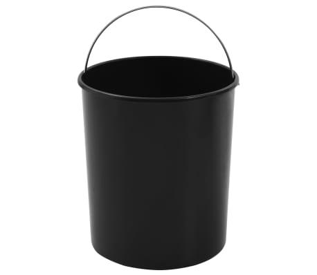 vidaXL Küchen Einbau Mülleimer Kunststoff 12 L