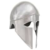 vidaXL Casque de chevalier médiéval grec pour GN Argenté Acier