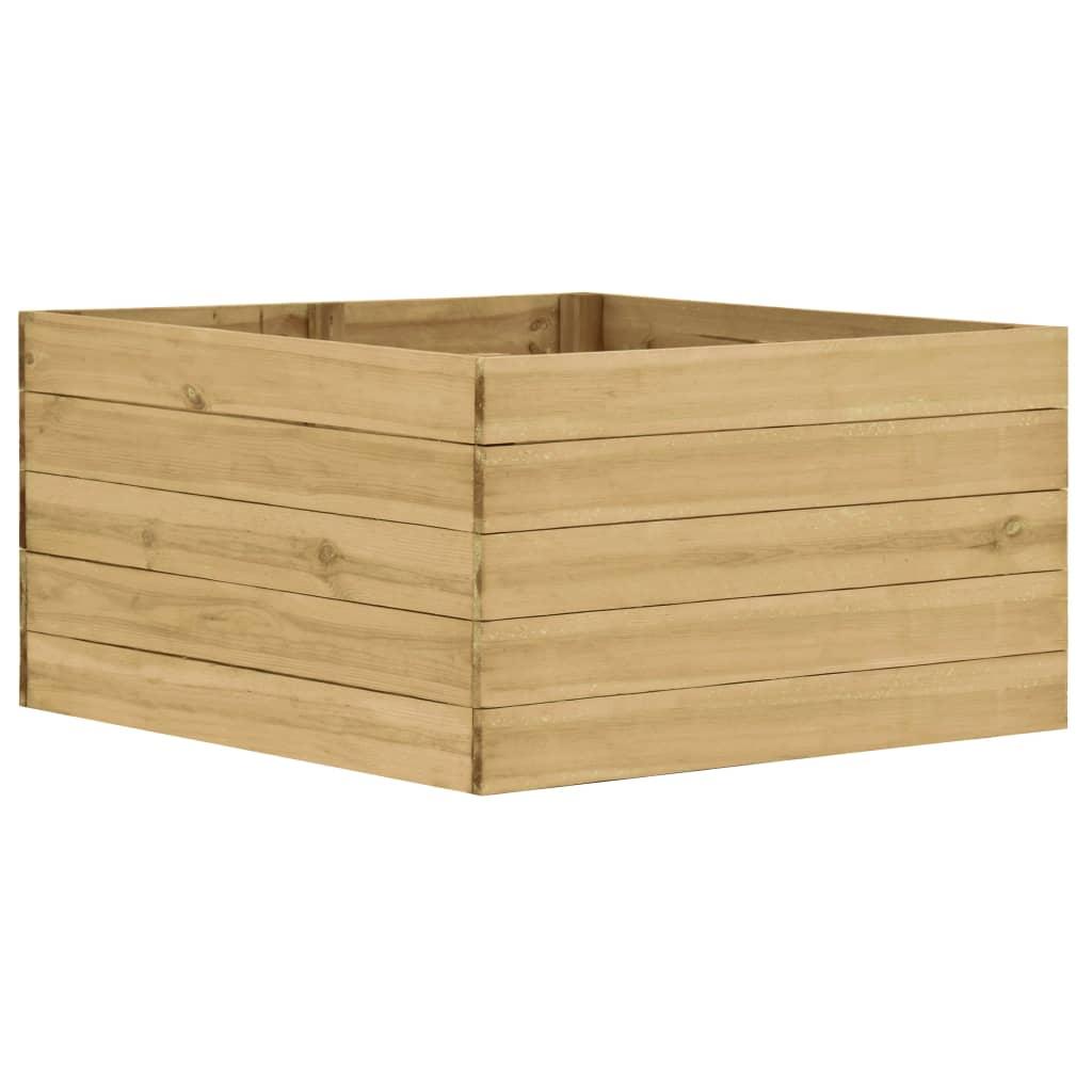 vidaXL Plantenbak 100x100x54 cm FSC geïmpregneerd grenenhout