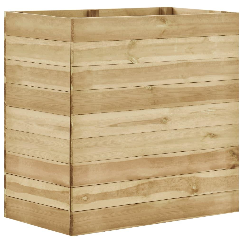 vidaXL Plantenbak 100x50x97 cm geïmpregneerd grenenhout