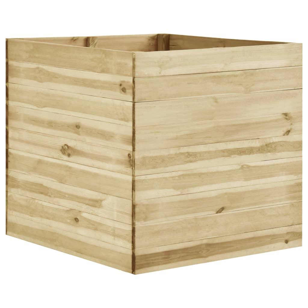vidaXL Plantenbak 100x100x97 cm geïmpregneerd grenenhout