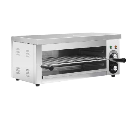 vidaXL Salamandre Gastronorm électrique 2500 W Acier inoxydable