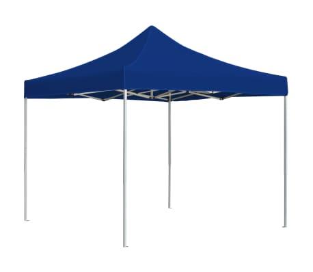 vidaXL Partytent professioneel inklapbaar 2x2 m aluminium blauw