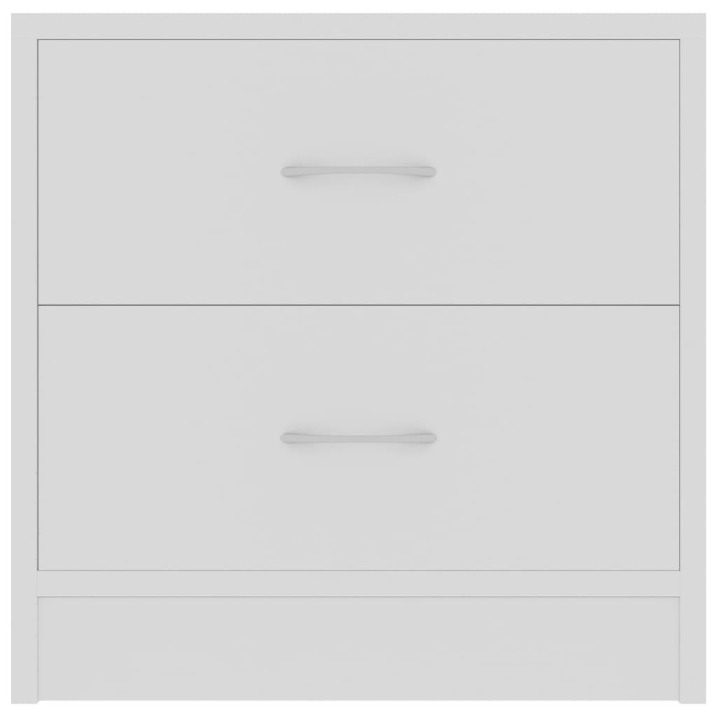 öökapp, valge, 40 x 30 x 40 cm, puitlaastplaat