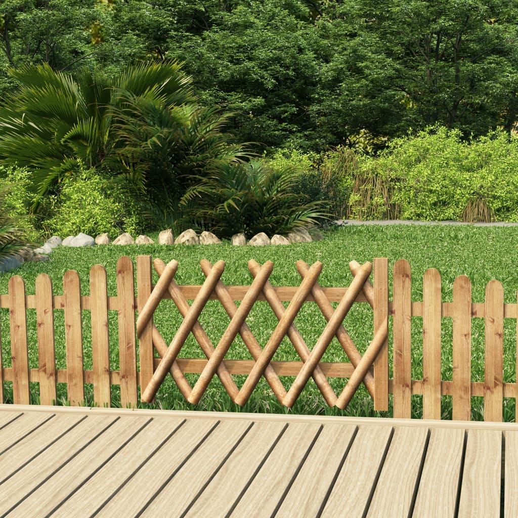 Zahradní branka impregnovaná borovice 100 x 60 cm