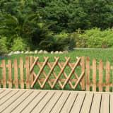 vidaXL Poort 100x60 cm geïmpregneerd grenenhout
