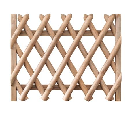 vidaXL Garden Gate Impregnated Pinewood 100x80 cm