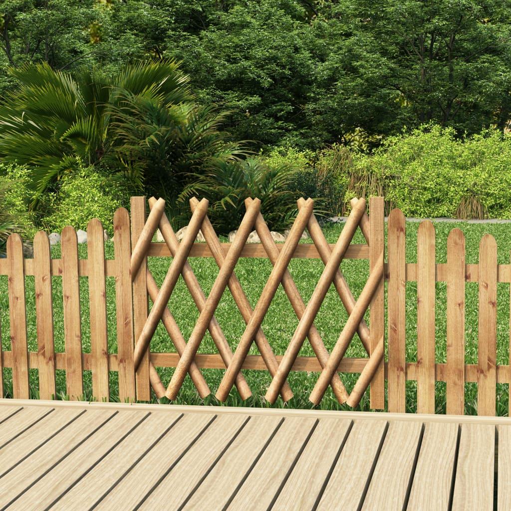 Zahradní branka impregnovaná borovice 100 x 80 cm