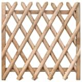 vidaXL Poort 100x100 cm geïmpregneerd grenenhout