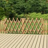 vidaXL Πόρτες Φράχτη 2 τεμ. 300 x 80 εκ. Εμποτισμένο Ξύλο Πεύκου