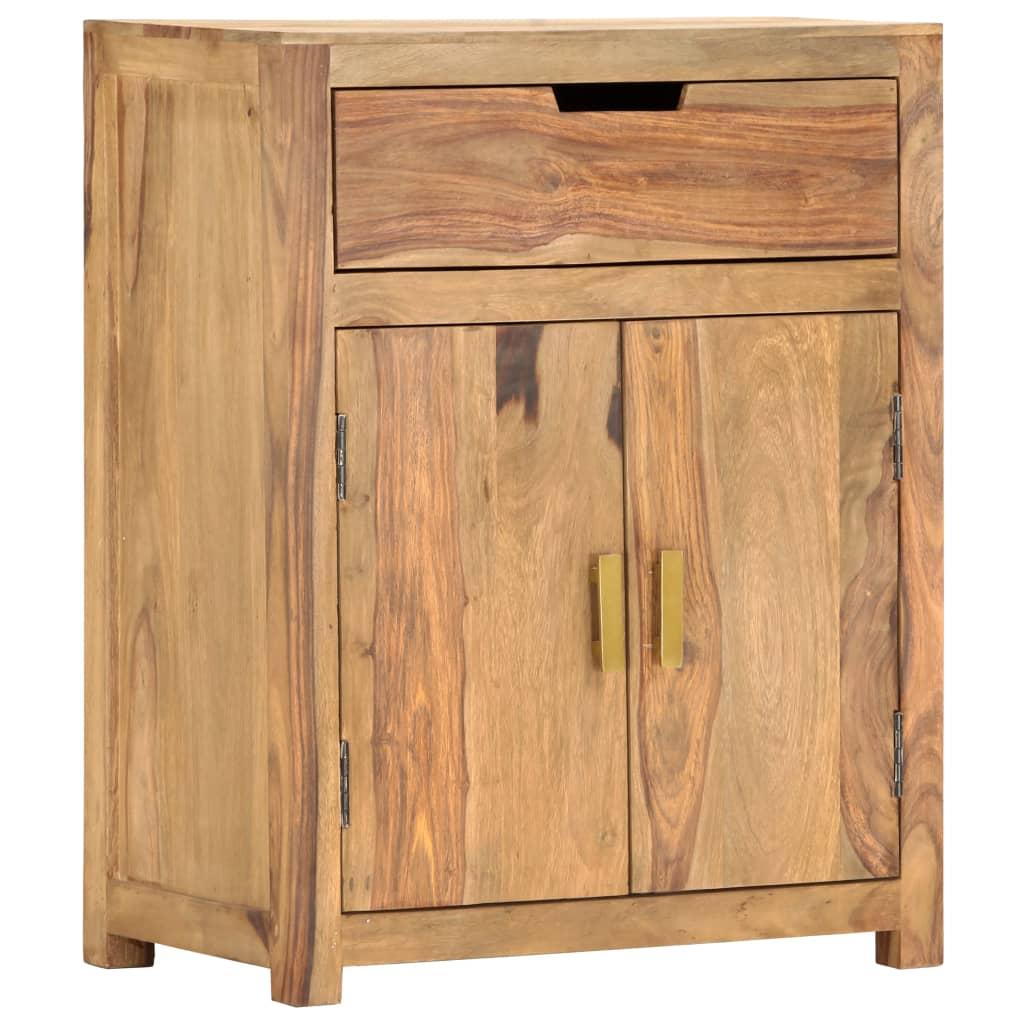 vidaXL Servantă, 58 x 34 x 75 cm, lemn masiv de sheesham poza vidaxl.ro