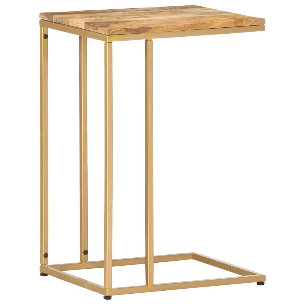 vidaXL Odkládací stolek 35 x 45 x 65 cm masivní mangovník