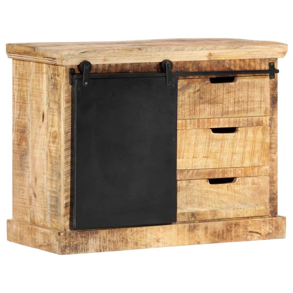 vidaXL Servantă, 80 x 30 x 60 cm, lemn masiv de mango imagine vidaxl.ro