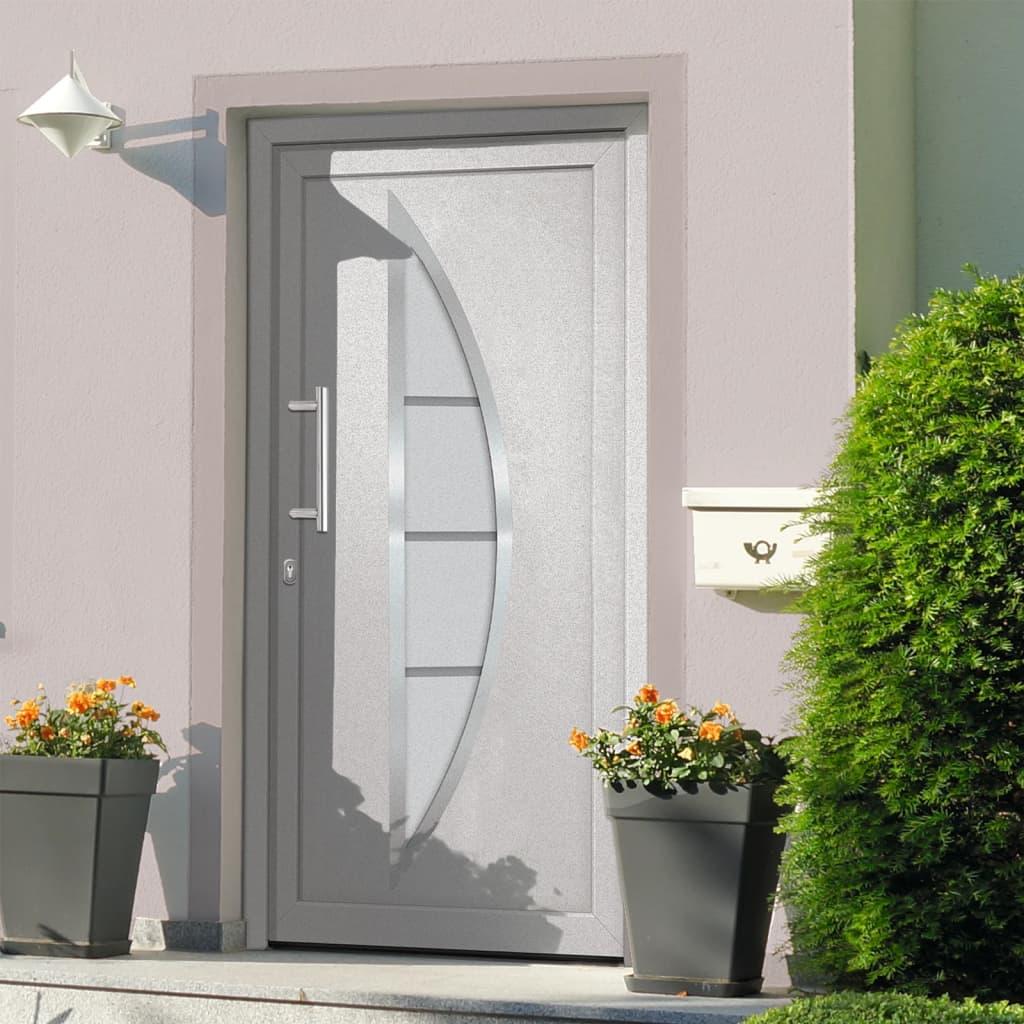 Vchodové dveře bílé 108 x 200 cm