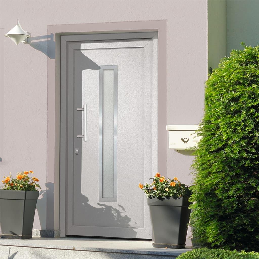 Vchodové dveře bílé 98 x 190 cm