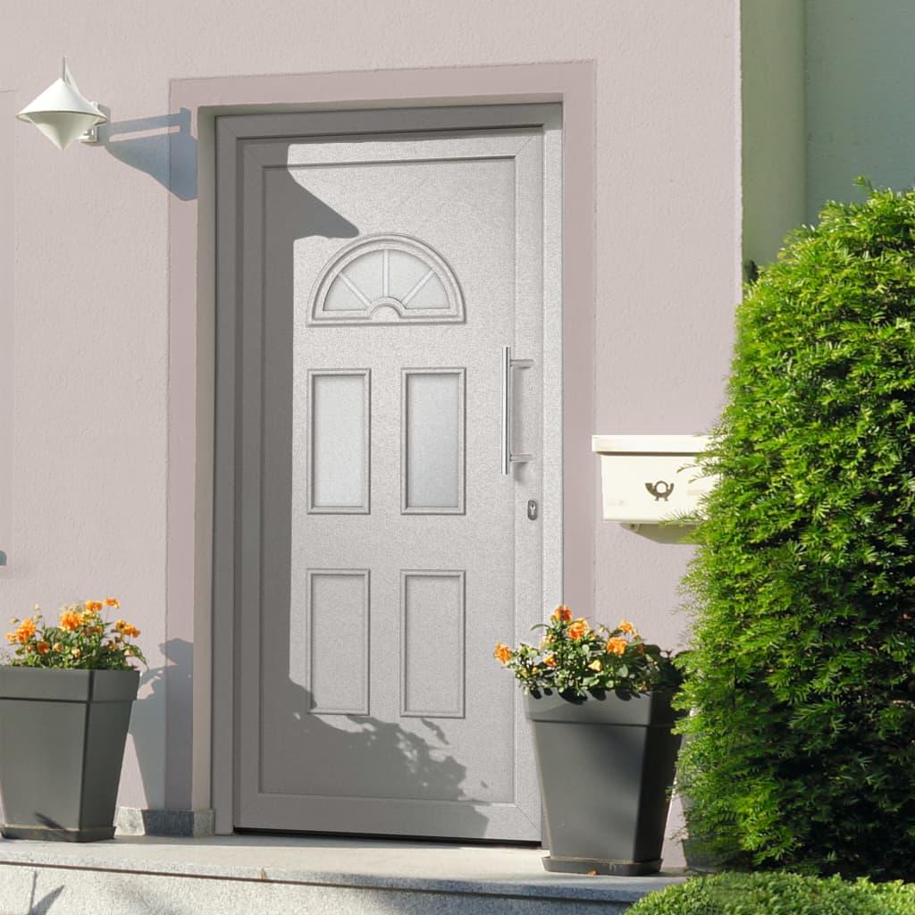 Vchodové dveře bílé 110 x 210 cm