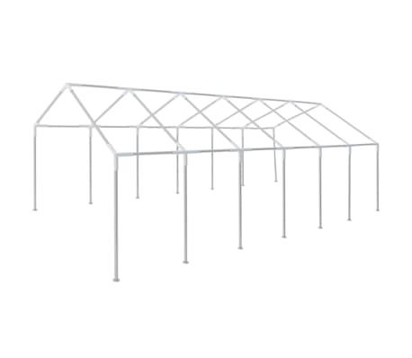 vidaXL Stahlrahmen für 12 x 6 m Partyzelt