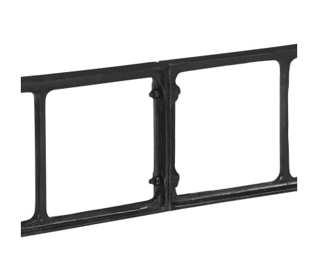 vidaXL Pieds de table de salle à manger 150x68x73 cm Fonte[4/7]