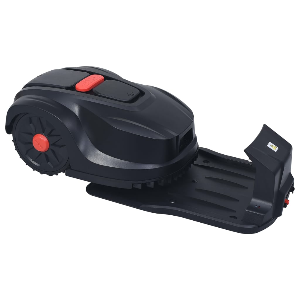 vidaXL Robotmaaier 1000 m² met LCD 4,4 Ah 24 V accu