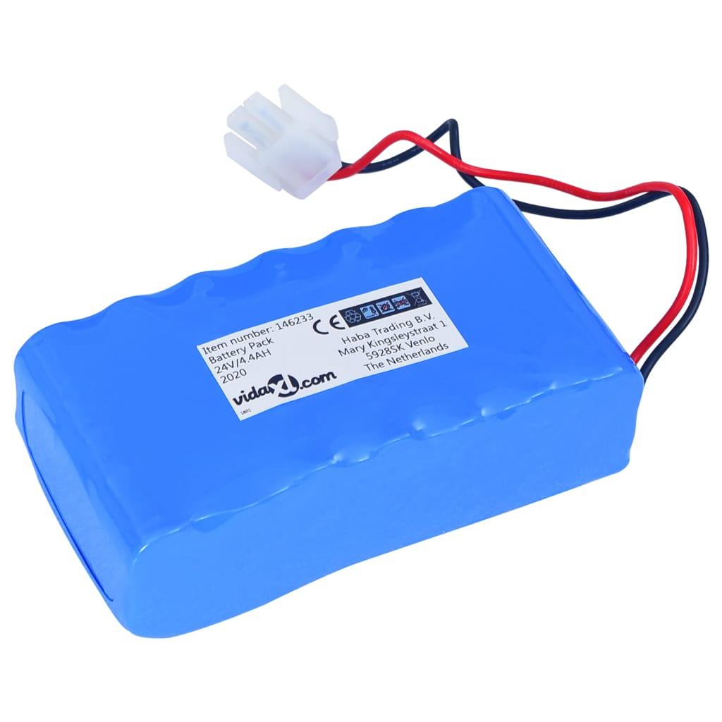 vidaXL Baterie litiu-ion de rezervă 4,4Ah 24V pentru robot tuns iarbă vidaxl.ro