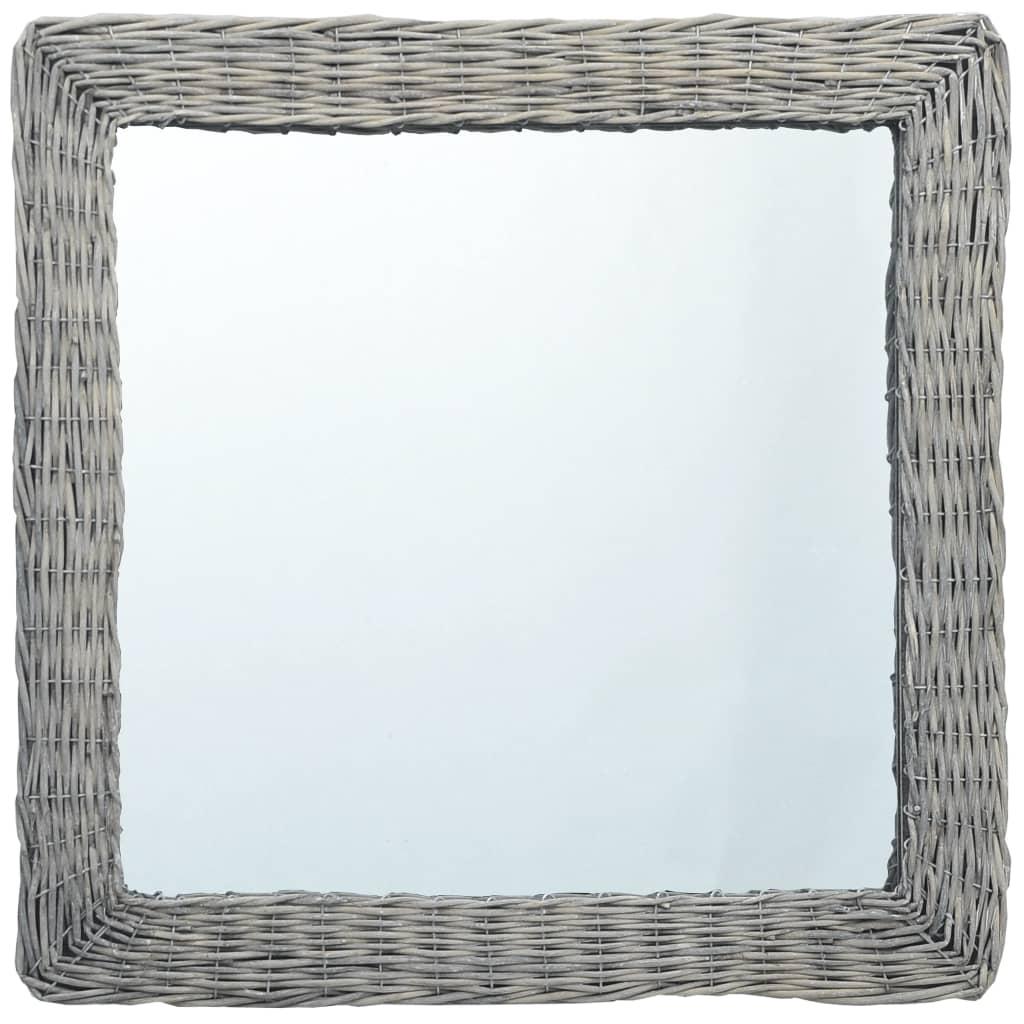 Zrcadlo 60 x 60 cm proutí